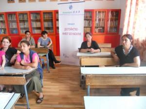 жени от село Беломорци, община Омуртаг, участнички във фокус-група