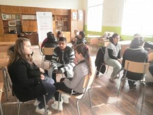 обучение на ученици в село Лиляк, общ. Търговище