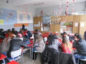 обучение на ученици в град Опака