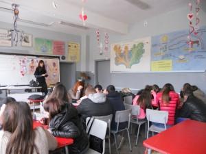 обучения на ученици от област Търговище за превенция на домашното насилие